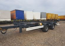 2007 KRONE chassis trailer