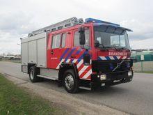 1989 VOLVO FL6-14 fire tanker t