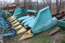 1990 PSP-10 sunflower harvestin