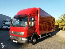2008 DAF LF45 closed box truck
