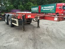 1997 VAN HOOL container chassis