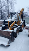 1991 CATERPILLAR 428 backhoe lo