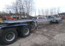 2004 HOFFMANN container chassis