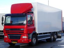 2010 DAF 85 CF 460 CLOSED BOX c