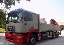 2000 MAN 26.464 flatbed truck