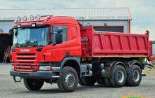 2008 SCANIA P380 dump truck