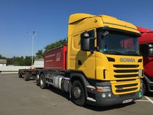 2011 SCANIA R420 chassis truck