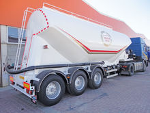 2017 NURSAN 35 m3 cement tank t