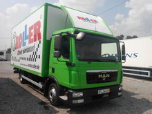 2011 MAN TGL closed box truck