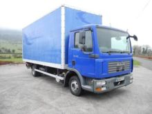 2008 MAN TGL closed box truck