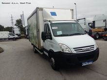 2008 IVECO 65C15V closed box tr