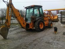 2006 CASE 580 wheel loader