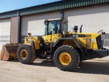 2012 KOMATSU WA430-6 wheel load