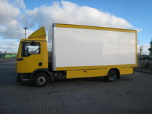 2006 MAN TGL 7150 closed box tr