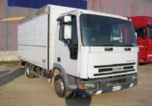 2000 IVECO closed box truck