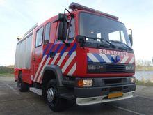 1997 DAF 55-210 fire tanker tru