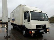 1997 MAN closed box truck