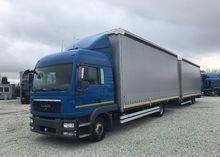 2011 MAN TGL 8.220 tilt truck +