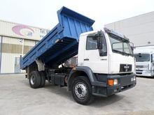 2000 MAN 18.284 dump truck