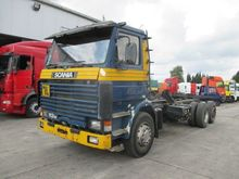 1996 SCANIA 113 chassis truck