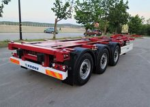 2012 KRONE SD container chassis