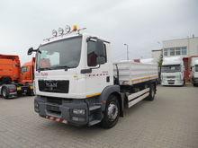 2011 MAN 4x2 BB flatbed truck