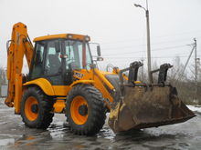 2013 MST M544 backhoe loader