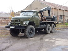 1984 ZIL 131 military truck