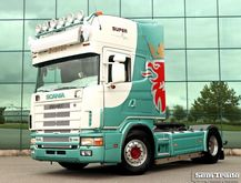 2004 SCANIA 164L 480 V8 tractor