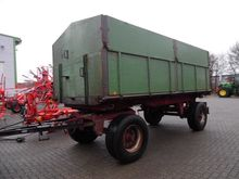 1985 OELKERS 18T flatbed traile