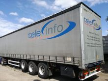 2005 WIELTON curtain side semi-