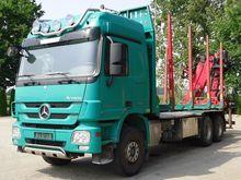 2011 ACTROS 2651 timber truck +