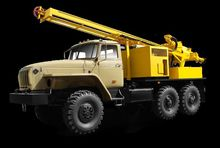 2008 URAL URB 2A2 drilling rig