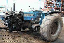 Damaged LANDINI 8500 wheel trac
