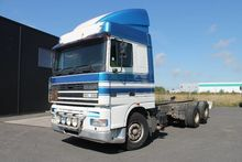 2001 DAF FAS95.480X chassis tru