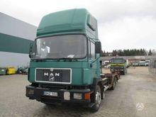 1991 MAN 24.193, auto transport