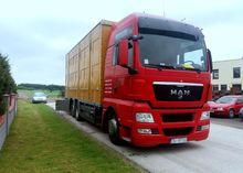 2009 MAN livestock truck