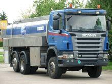 2009 SCANIA G400 milk tanker