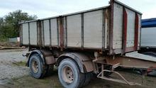 1987 NOPA flatbed trailer