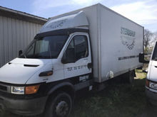 2002 IVECO 65 C 15 D closed box