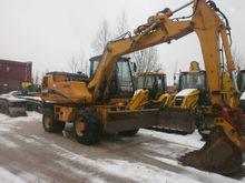 2004 CASE Wx 150, excavator whe