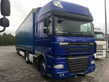 2012 DAF FT XF105 tractor unit