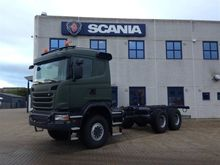 2014 SCANIA G450 chassis truck