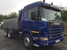 2002 SCANIA 94 C dump truck