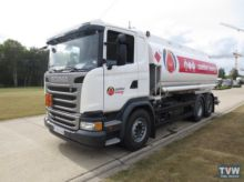 2016 SCANIA fuel truck