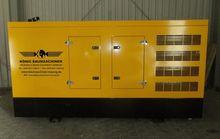 Stromaggregat 50-400 kVA genera