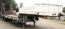 Used Low bed semi-tr