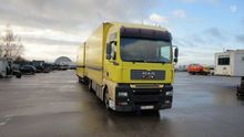 2003 MAN TGA, box trucks / box