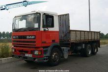 1997 DAF 95.360 ATI flatbed tru