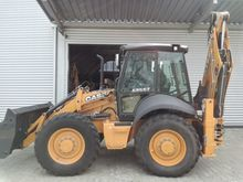 2015 CASE 695 ST backhoe loader